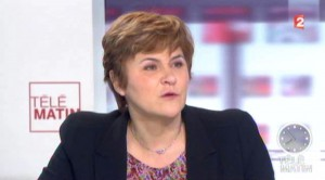 Dominique Voynet - Télématin