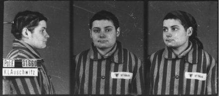 Auschwitz-I, le 3 février 1943 Musée d'État d'Auschwitz-Birkenau, Oswiecim, Pologne. Collection Mémoire Vive. Droits réservés.